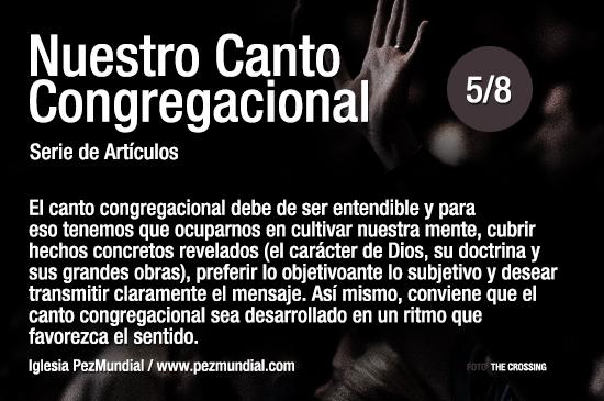 El canto congregacional