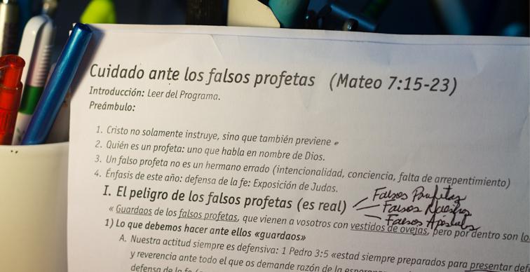 Peligro Falsos Profetas / Mateo 7